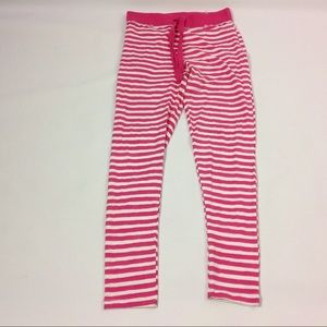 New Joe Boxer Striped pant Pink White M